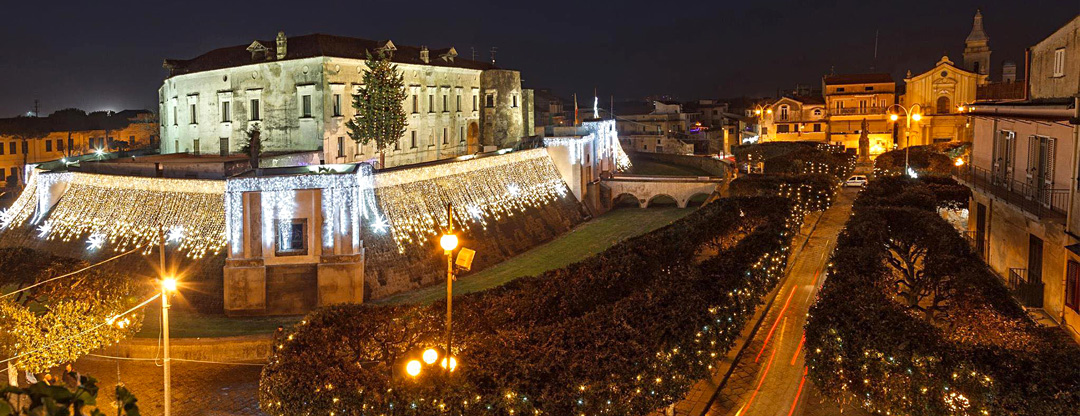 Castello Baronale a Natale